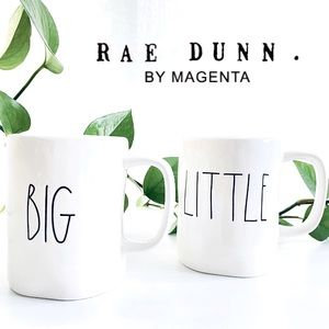 Rae Dunn by Magenta LITTLE BIG 2 Mug Set